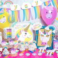 Rainbow Unicorn Birthday Party